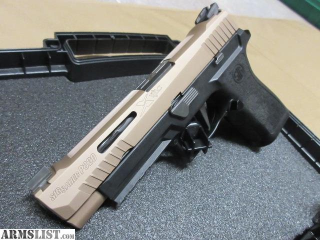 ARMSLIST - For Sale: SIG SAUER P320 X VTAC - USED GREAT
