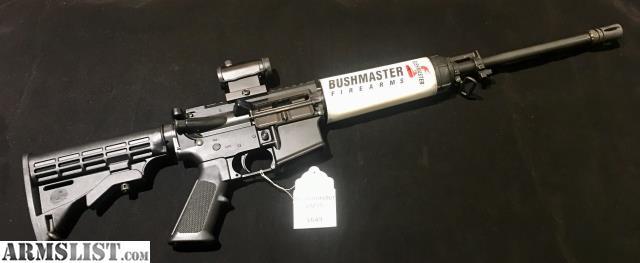 For Sale: Bushmaster XM15 5.56
