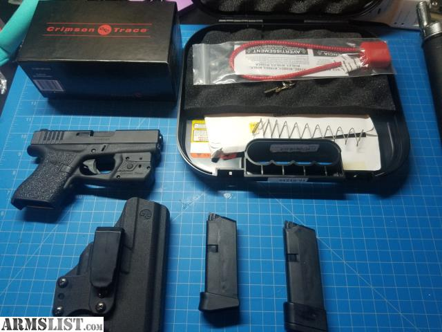 Armslist For Sale Trade Glock 43 With Laser Light Combo