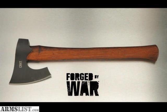 ARMSLIST - For Sale: CRKT Freyr Axe 4 52 in Blade Edge 16 0