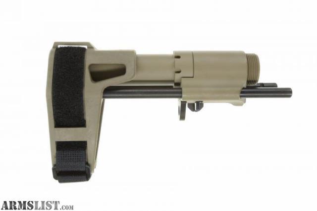 Armslist For Sale Sb Tactical Pdw Adjustable Ar15