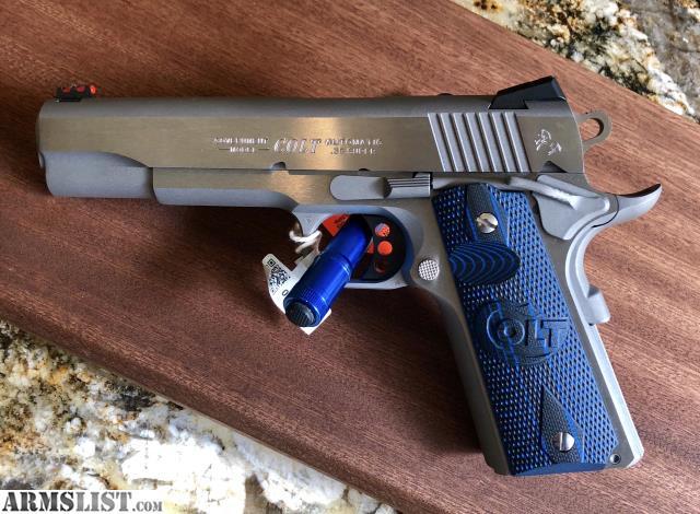 ARMSLIST - For Sale: Colt 38 Super Series 80 Competition