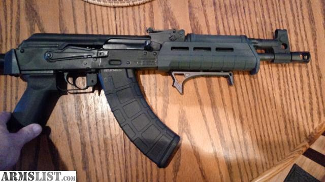 ARMSLIST - For Trade: Ak 47 Draco pistol package
