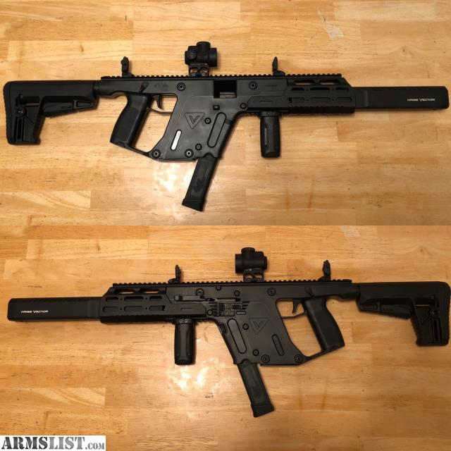 ARMSLIST - For Sale/Trade: Kriss Vector Crb