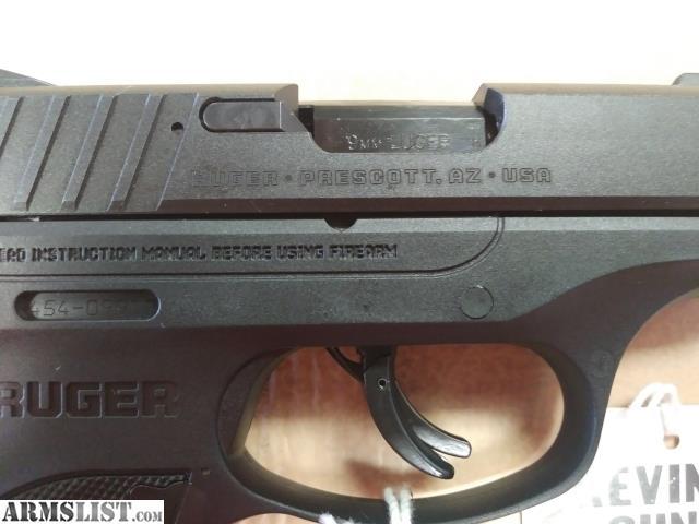 ARMSLIST - For Sale: Ruger EC9s (9mm)