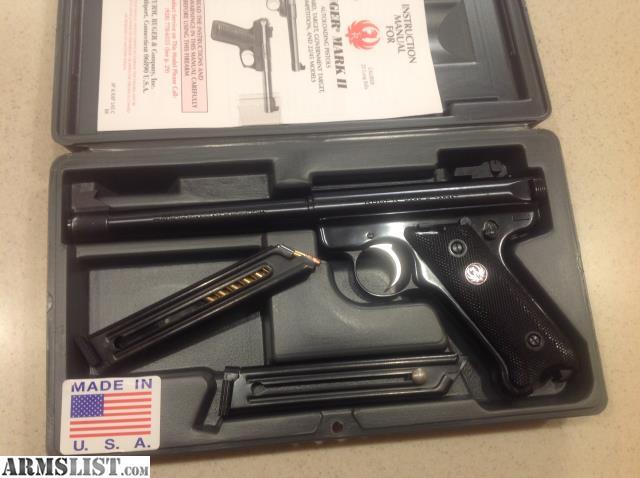 armslist for sale ruger mark 2 target rh armslist com Ruger 22LR Target Pistol Ruger Target Pistol Bull Barrel Stainless Steel