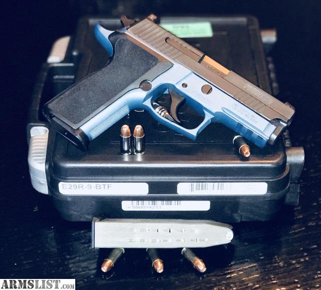 For Sale Trade Sig Sauer P229 9mm Tacpac With: For Sale/Trade: Sig Sauer P229 Elite Blue Titanium