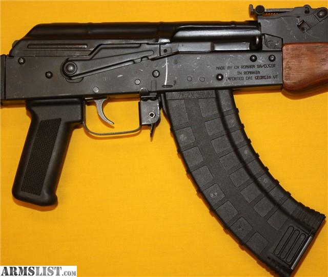 "For Sale: USED Romanian GP Wasr-10/63 AKM 16"" 7"