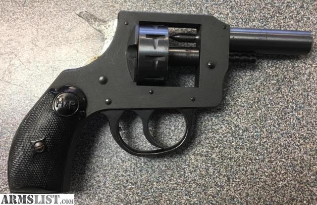 ARMSLIST - For Sale: used H&R Starter Pistol  22 Cal Blanks