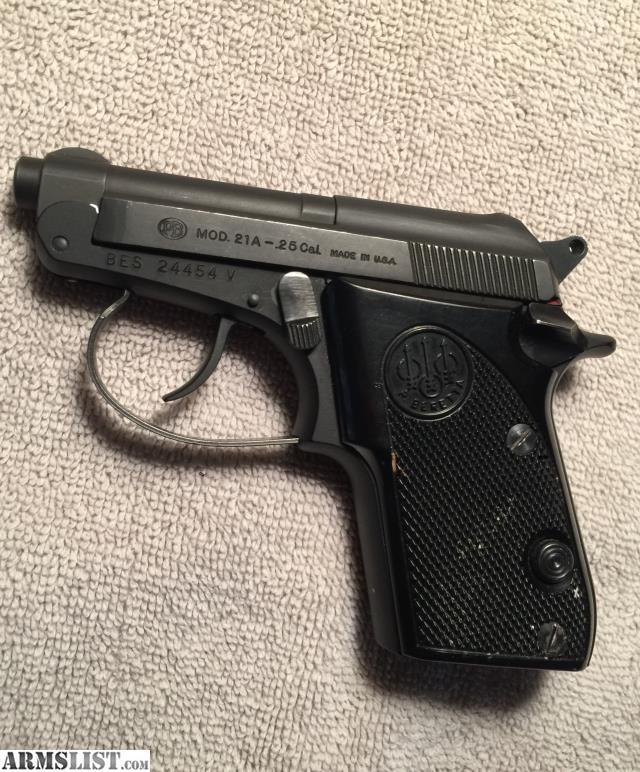 Beretta 25 Cal Handguns – Jerusalem House