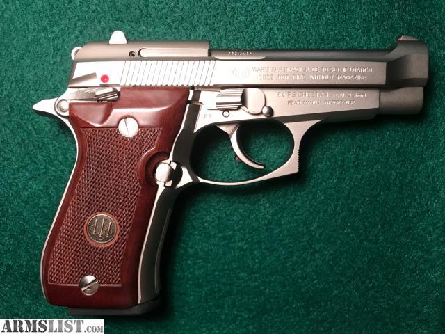 ARMSLIST - For Sale: Beretta Cheetah 84FS Nickel