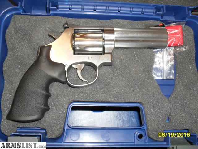 For Sale Is A SW 686 6 STAINLESS 7 Shot Revolver NEW Other Than Several Rounds Fired After Trigger Job This The Smoorthest I Have Ever