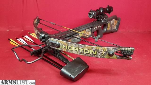 ARMSLIST - For Sale: Horton Explorer XL150 150lb Crossbow