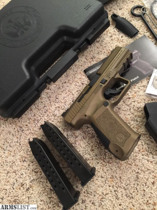 Armslist For Sale Canik Tp9da Burnt Bronze And Extras