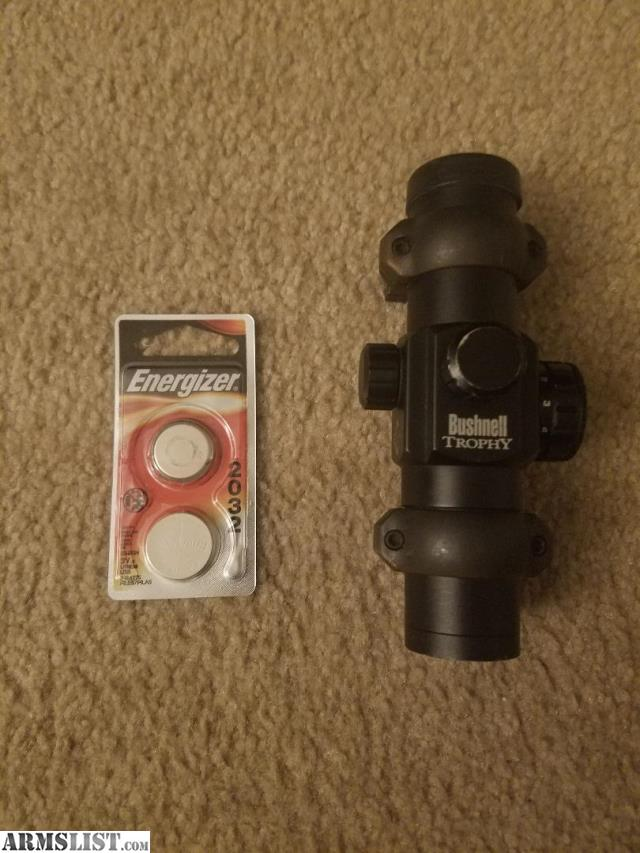 Bushnell Trophy Red Dot Trs 25 3 Moa Red Dot Reticle: For Sale: Bushnell Trophy 1x28 Red Dot
