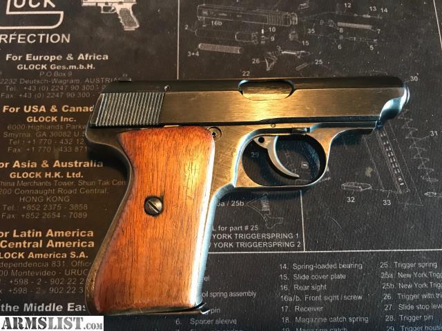 Armslist For Sale J P Sauer Amp Sohn Sauer 38h 7 65 1 Mag