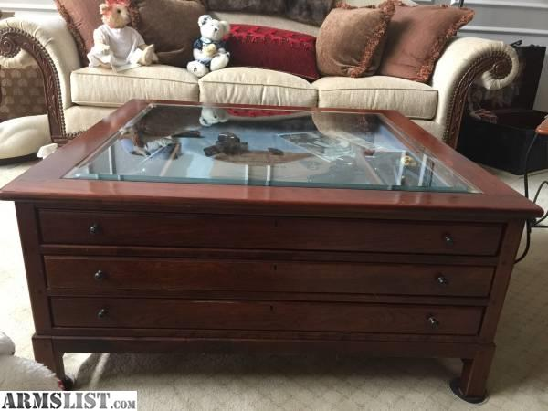 ARMSLIST For Sale Gun Or Other Items Display Coffee Table - Display coffee table for sale