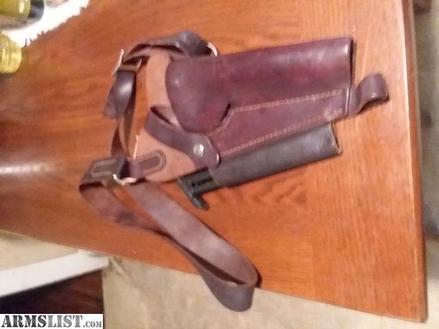 ARMSLIST - For Sale: Holster, Leather, Shoulder, Ruger MK II 22/45