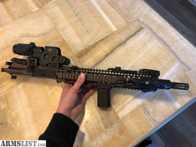 ARMSLIST - For Sale: Daniel Defense M4A1 Upper Receiver