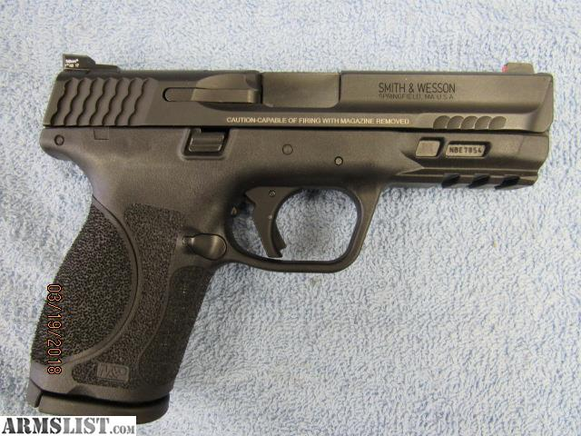 For Sale: SMITH AND WESSON M&P9 M2.0 COMPACT
