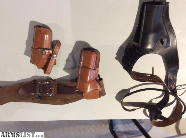ARMSLIST - For Sale: Western Holsters and Gun belt