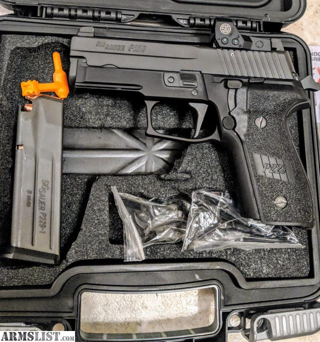 For Sale Trade Sig Sauer P229 9mm Tacpac With: For Sale/Trade: Sig Sauer P229 RX, Romeo1 RMR