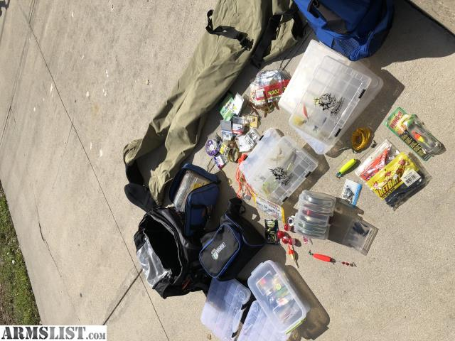Armslist for sale trade fishing gear as newtrade for for Fishing gear for sale