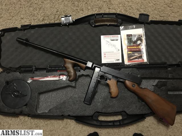 ARMSLIST - For Sale: Tommy Gun