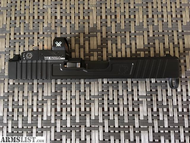 ARMSLIST - For Sale/Trade: Primary Machine Glock 19 RmR/MOS cut Gen