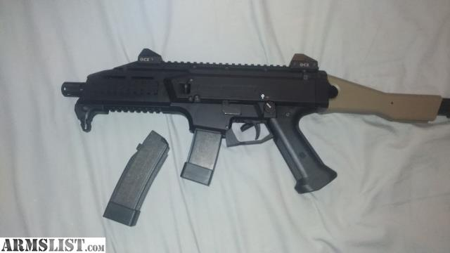 ARMSLIST - For Sale/Trade: CZ Scorpion with cheek rest