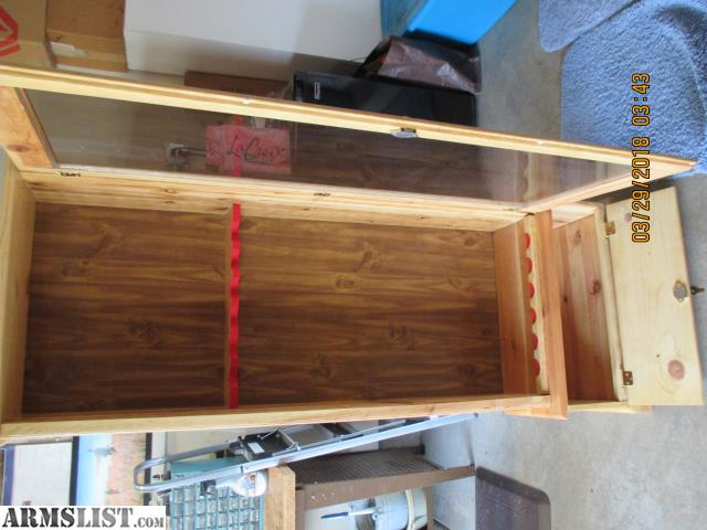 For Sale: Knotty Pine Gun Cabinet