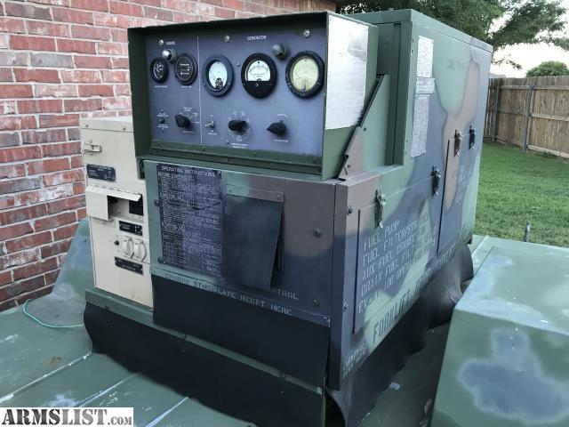 ARMSLIST - For Sale: Military surplus MEP-002a 5KW Diesel