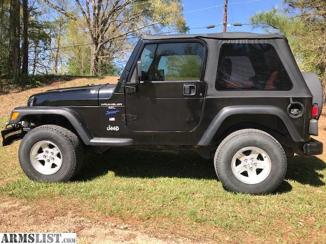 armslist for sale 97 jeep wrangler. Black Bedroom Furniture Sets. Home Design Ideas
