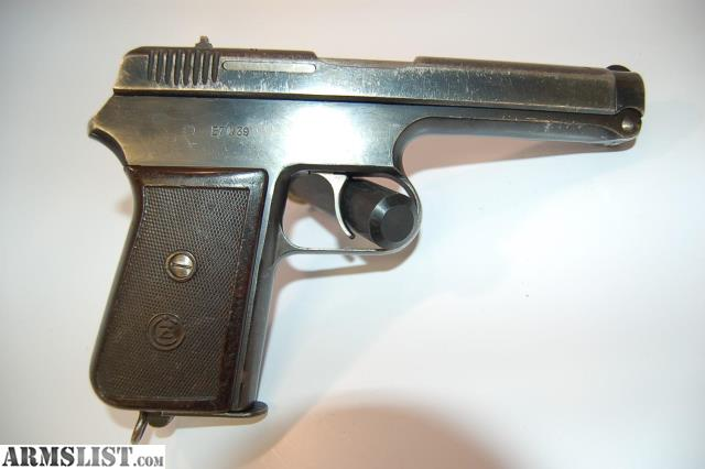 ARMSLIST - For Sale: USED - CZ 38 Pistol,  380ACP, DAO, 1 Mag, Holster