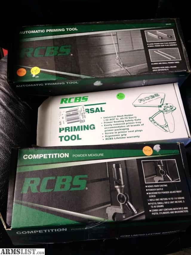 Armslist For Sale Rcbs Tools New In Box