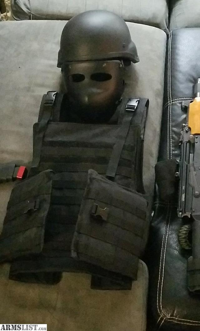 Armslist For Trade Level Iii And Iiia Face Head And