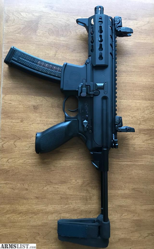 ARMSLIST - For Sale: Sig MPX K 9mm with PSB