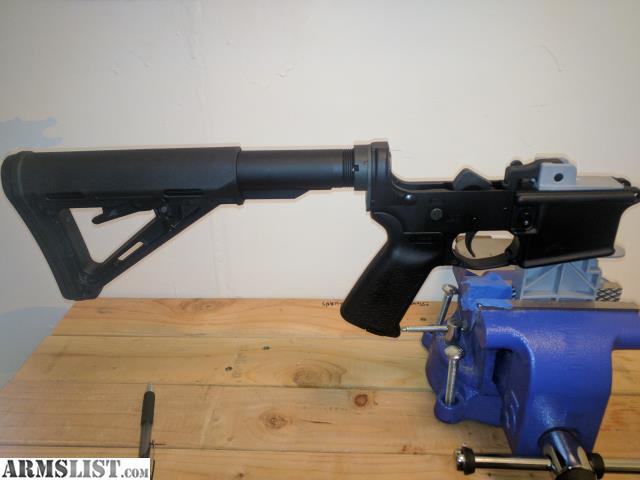 ARMSLIST - For Sale: AR-15 LOWER - COMPLETE MAGPUL/AERO