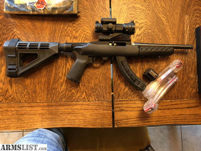 Police Charger For Sale >> ARMSLIST - For Sale: Ruger 10/22 charger