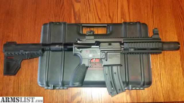 ARMSLIST - For Sale: Hk 416  22lr pistol