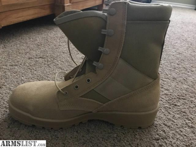 af14dbd4456 ARMSLIST - For Sale: Thorogood Hot Weather Steel Toe Tan Boots