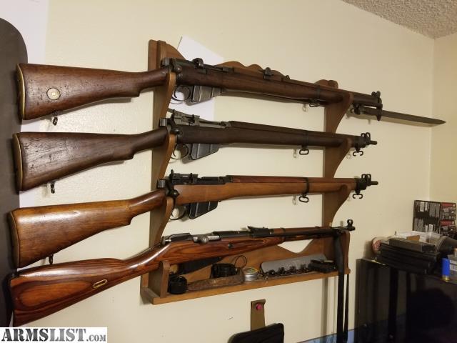 ARMSLIST - For Sale: MKIII*, No4 Mk1, No4 Mk2, M44 Enfield Mosin rifles