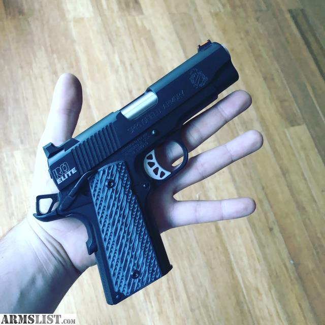 ARMSLIST - For Sale: New Springfield 1911 RANGE OFFICER