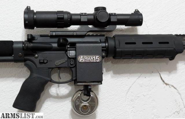 Armslist For Sale Ar 15 Gun Lock And Wall Mount