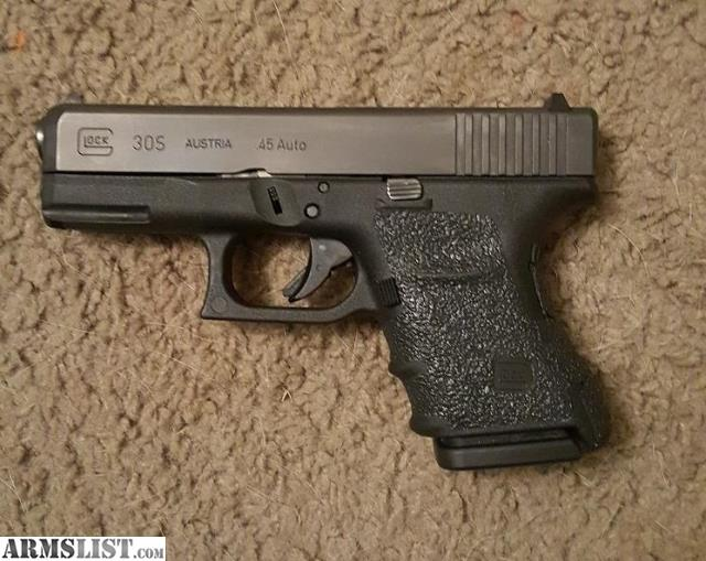 ARMSLIST - For Sale: Glock 30S + IWB Holster