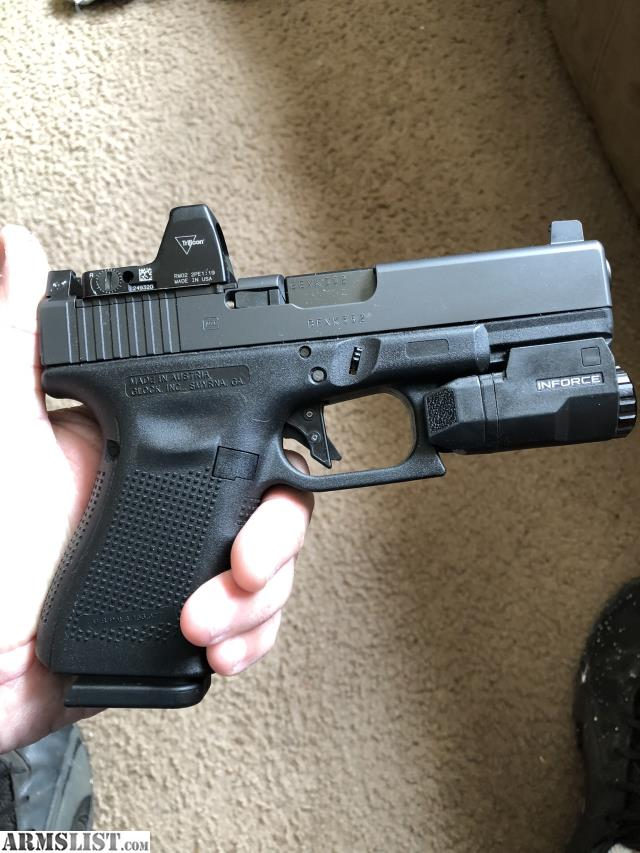 ARMSLIST - For Sale/Trade: Glock 19 MOS, RMR, APLC