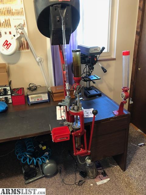 ARMSLIST - For Sale: Hornady Ammo Plant w/ Case Feeder and