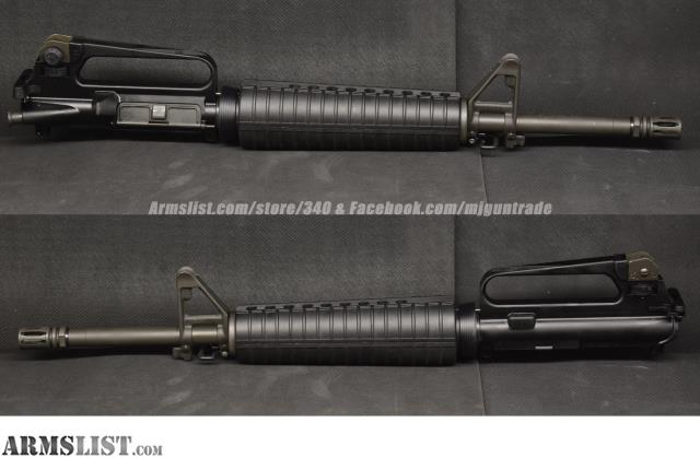 ARMSLIST - For Sale: USED Delton AR15 / M16 Upper Receiver