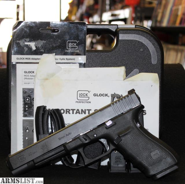 Denver Shooting Competition: For Sale: Glock 40 Gen 4 10mm