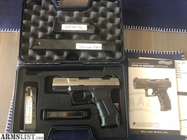 ARMSLIST - For Sale/Trade: Walther P99 with Titanium Slide